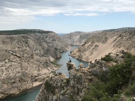 Rene Mlekuz reka Zrmanja