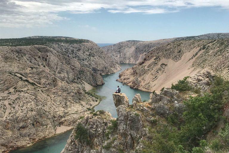 Rene Mlekuz Zrmanja kanjon