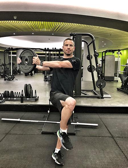 Navada je železna srajca - Rene Mlekuž trening