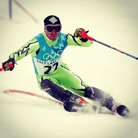 Rene Mlekuz Salt Lake OG 2002 Slalom - Cilj vsakega športnika
