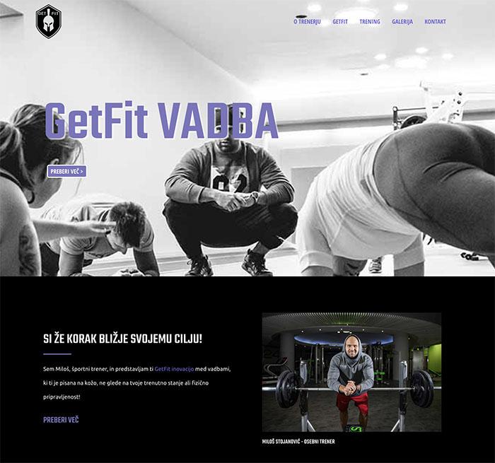 GetFit Workout spl stran